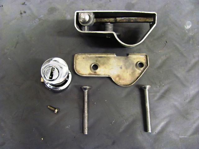 Seat Latch and Lock Hardware