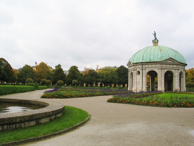 Munich: the gardens at the Residence