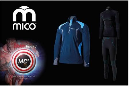 MICO funkční prádlo - skvělý partner na běžky