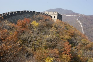 Sun & Autumn in Mutianyu