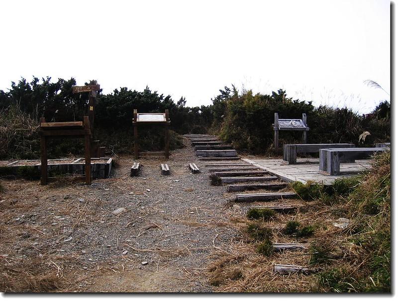 關山、庫哈諾辛山叉路口 2