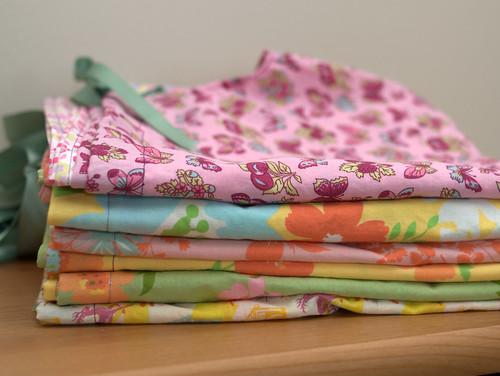 dresses folded