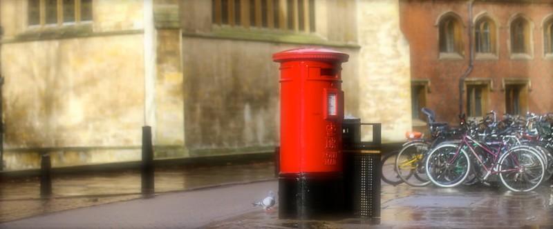 Goodbye UK - Glorious Cambridge