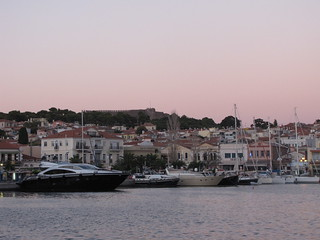 Sunset at Mytilene