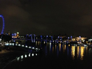 Lights on the Thames