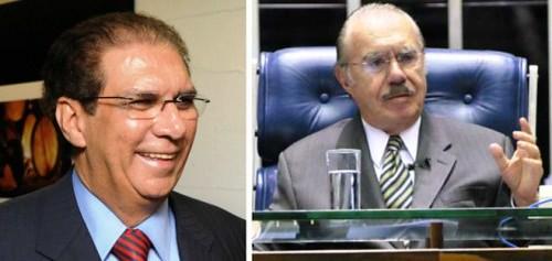 Jader e Sarney: contra o voto secreto