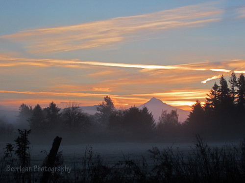 sky nature sunrise canon outdoors washington frost mthood