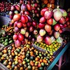 These are more conventional Indonesian fruit but marquisa & terong belanda are still unique to northern Sumatra.