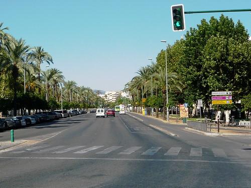 Große Bühne für die Woche der Bewegung, Cordobas zentraler Boulevard