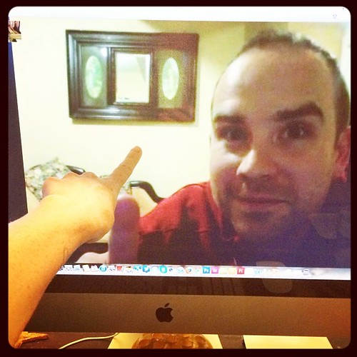 First international Skype with the husband. Oh, I miss him so much <3
