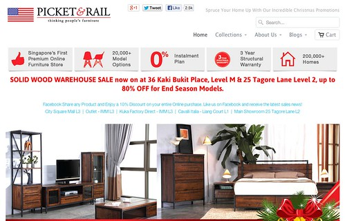 picket and rail online furniture store