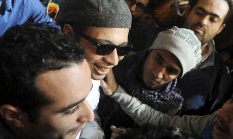 Egyptian activists Ahmed Doma, Mohamed Adel and Ahmed Maher of Egypt face sentencing on December 22, 2013 in Egypt. Repression is escalating inside the country. by Pan-African News Wire File Photos