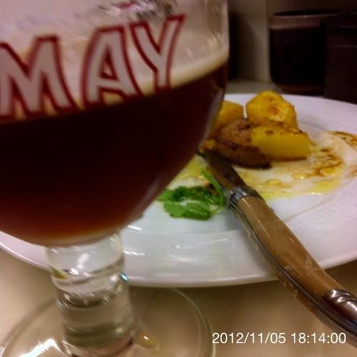 ベルギービール大好き!!シメイ・レッド Chimay Rouge (Red) @あじわい回転寿司 禅(ZEN)