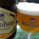 ベルギービール大好き!!マレッツ ブロンドMaredsous Blonde