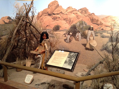 Paiute Diorama, Clark County Heritage Museum @ Henderson, Nevada 12.2013 @ClarkCountyNV