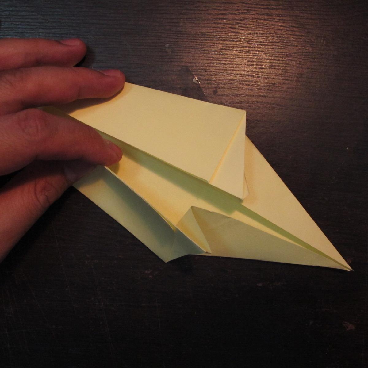 วิธีการพับกระดาษเป็นรูปหงส์ 006