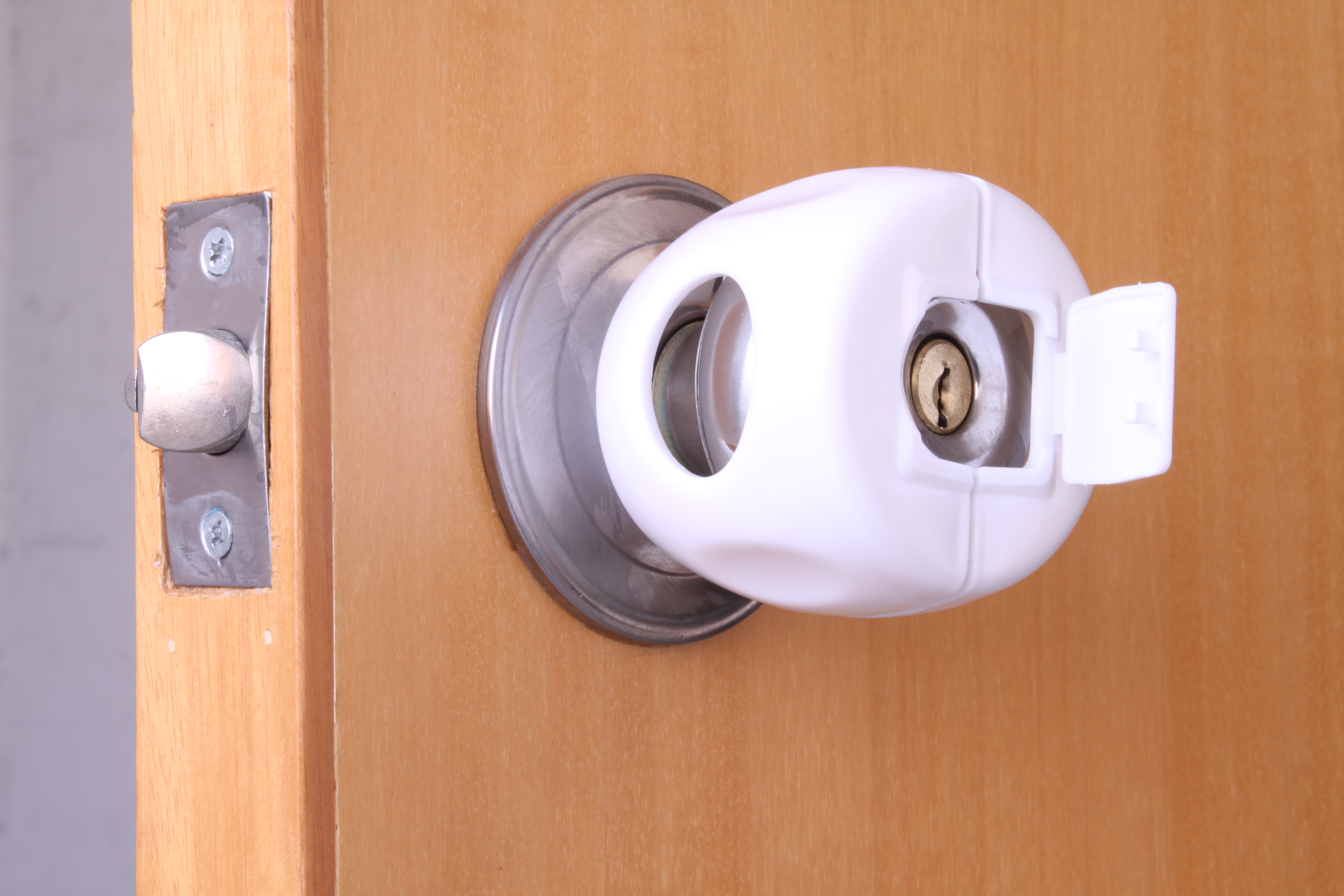 baby safety lock door knob cover flickr photo sharing. Black Bedroom Furniture Sets. Home Design Ideas