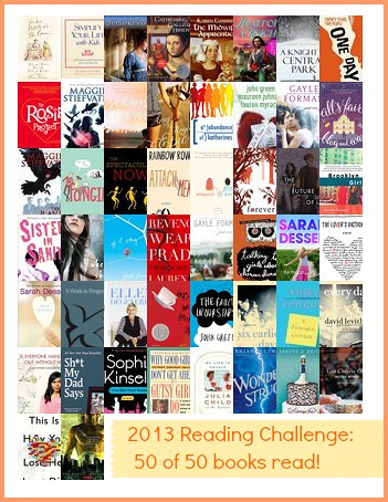 2013 Reading Challenge. Also book recommendations.