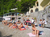 Sunbathers at Capri Beach by shaire productions
