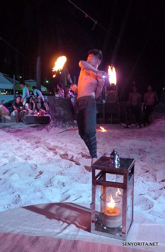 Fire Dancers of Sandbar Boracay