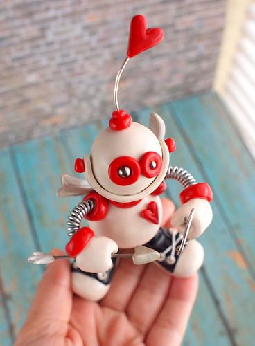 Robot Cupid Cam by HerArtSheLoves