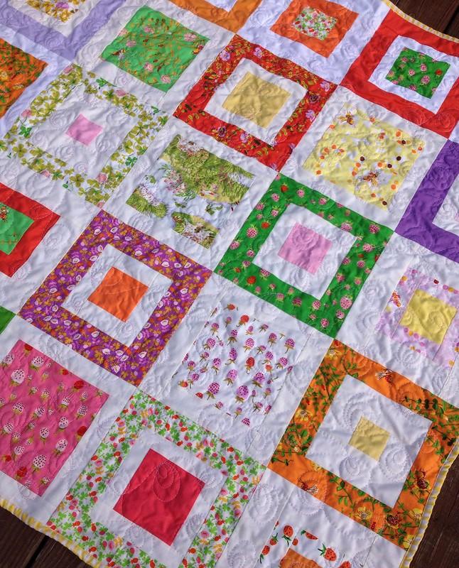 Jill's Briar Rose quilt