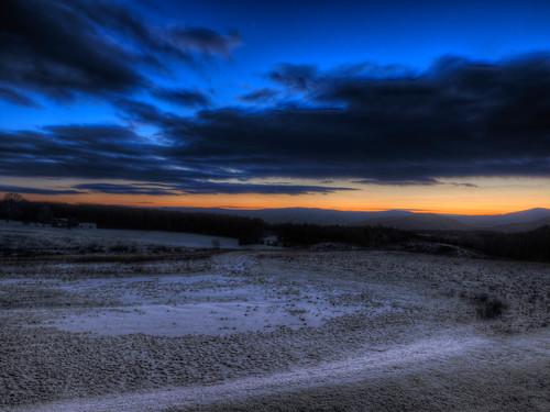 longexposure clouds sunrise massanutten