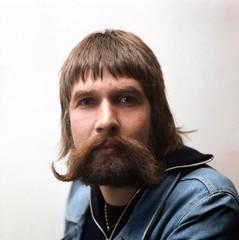Robert Jongbloed met prachtige snor / Robert Jongbloed with beautiful mustache