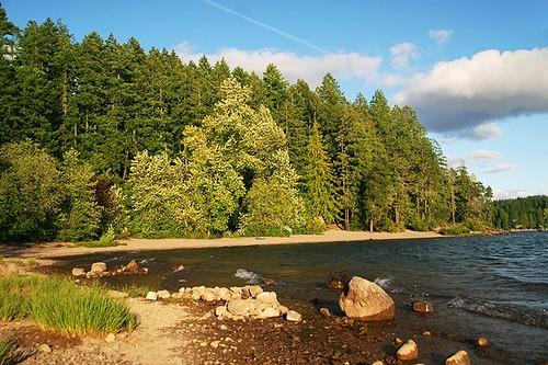 Sproat Lake Provincial Park, Port Alberni, Vancouver Island, British Columbia, Canada