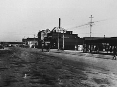 Commercial Road, Port Adelaide (south end) before widening