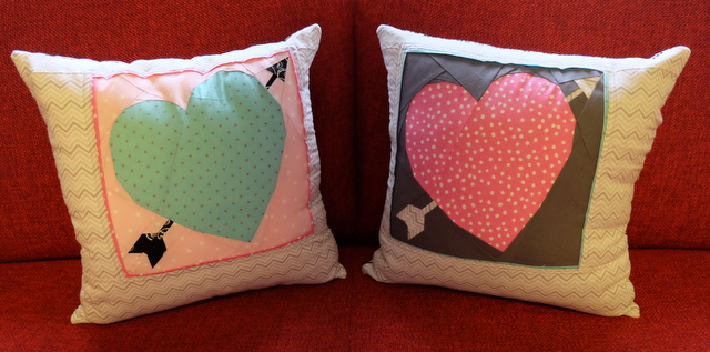 Love stuck pillows