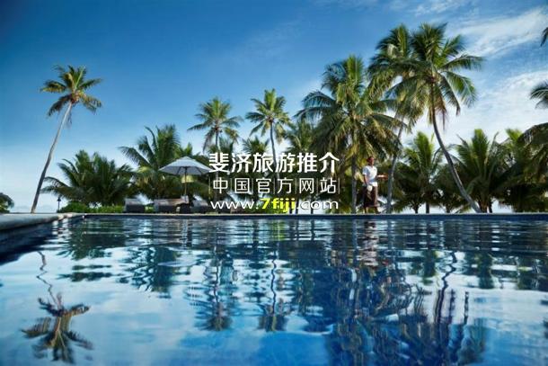 斐济沃莫岛度假酒店(Vomo Island Resort)游泳池