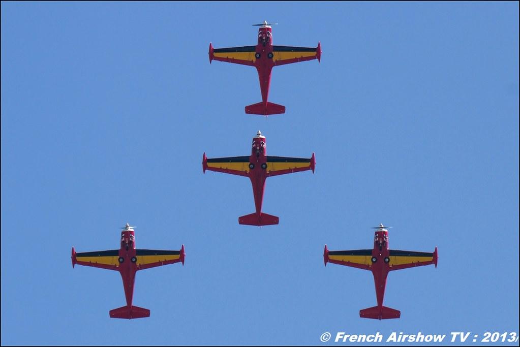 Red Devils, 60 ans Patrouille de France, Meeting Aerien 2013