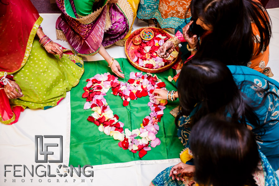 Shai & D's Garba & Pithi Night   Mughal's Banquet Hall   Atlanta Hindu Ismaili Fusion Wedding Photgraphy