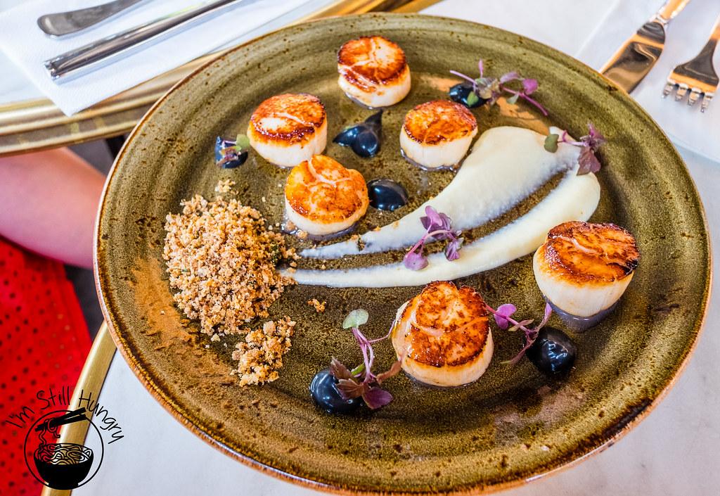 Vesta Italian seared scallops