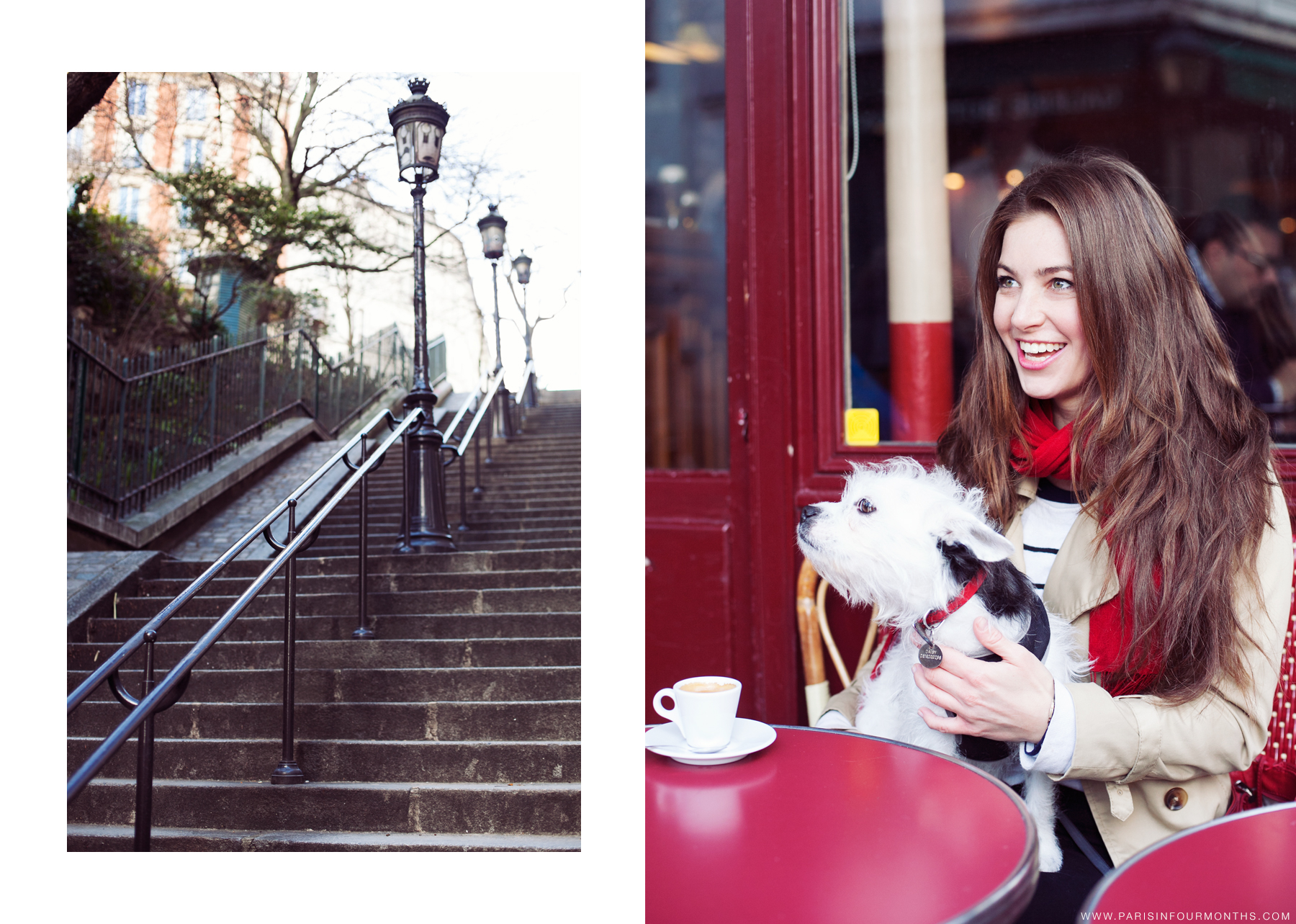 A day in Montmartre by Carin Olsson (Paris in Four Months)