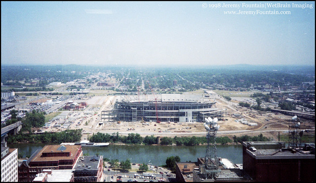 Adelphia Coliseum Under Construction (1998)
