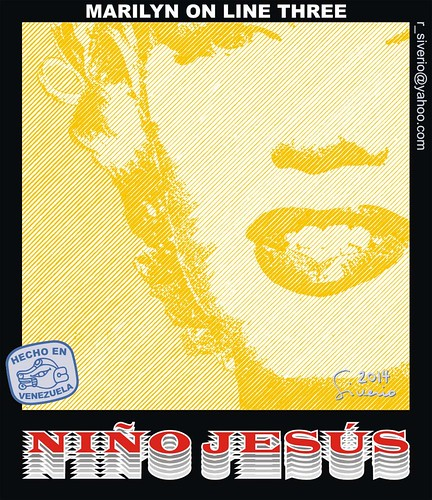 Marilyn On Line Three (Marilyn En línea Tres) by Niño Jesús