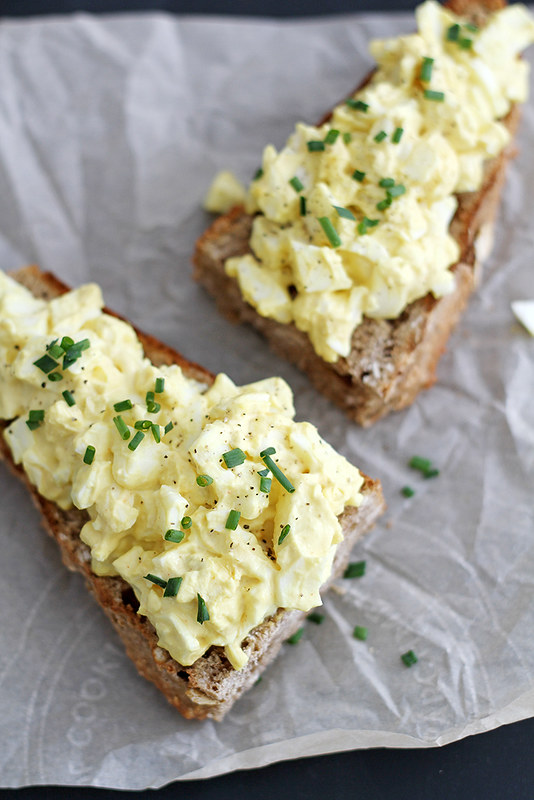 Mom's Egg Salad   girlversusdough.com @stephmwise