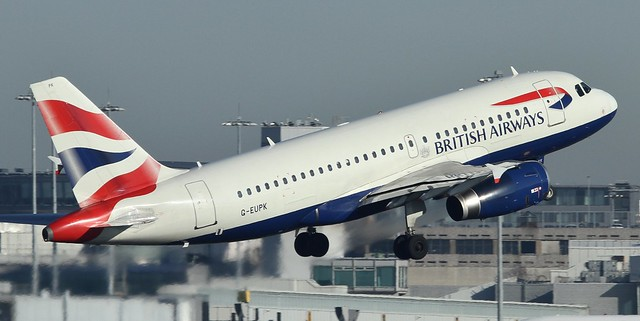 G-EUPK  BRITISH AIRWAYS  AIRBUS A319-131
