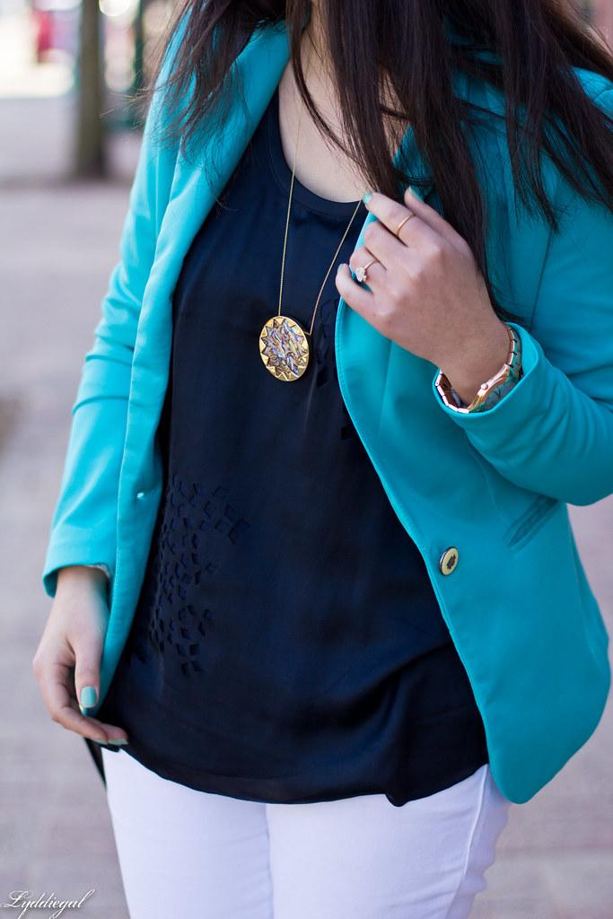turquoise blazer, white jeans, navy blouse-4.jpg
