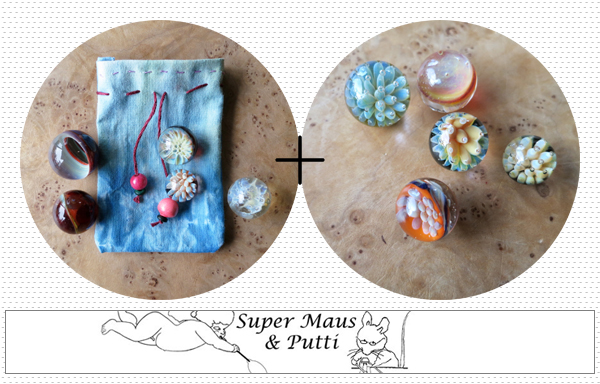 sponsor spotlight : handmade marbles from Super Maus & Putti | Emma Lamb