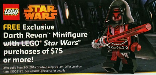 Darth Revan promotion advertisement