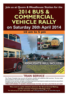 2014 Quorn Rally and Running Day Poster (16.03.14)