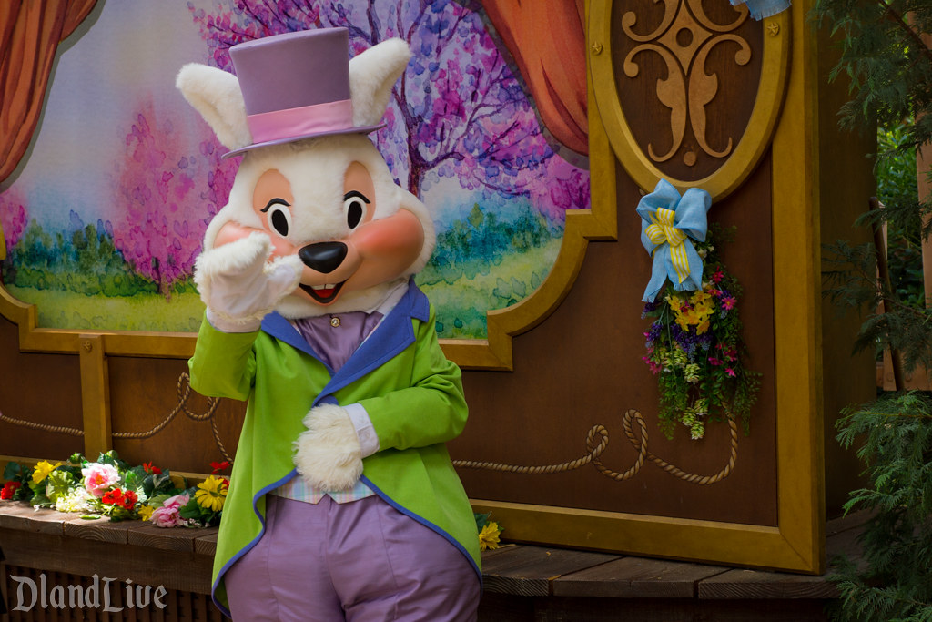 Easter Bunny at Springtime Roundup at Disneyland