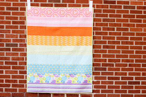 Dreamin' Vintage Strip Quilt