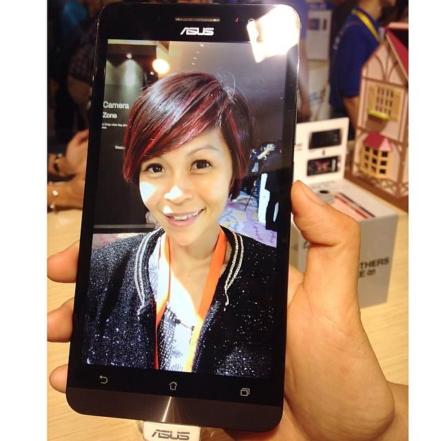 asus zenfone - selfie mode