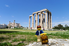Travels of badger - Temple of Olympian Zeus