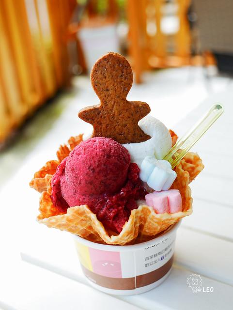 [苗栗 竹南]–炎炎夏日,來杯健康清爽的義式冰淇淋吧–歐德蜜義式冰淇淋