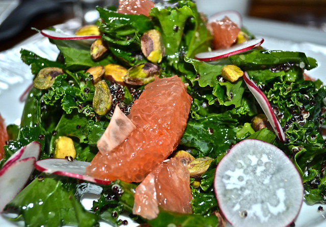 Salad - Solcstice Restaurant - Stowe Mountain Lodge, Vermont